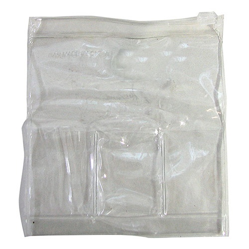 "5-1/2"" CLEAR SMALL VINYL POUCHES"