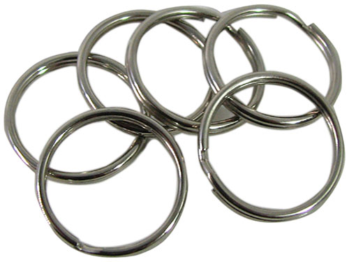 KEY HOLDER STEEL SPLIT RINGS