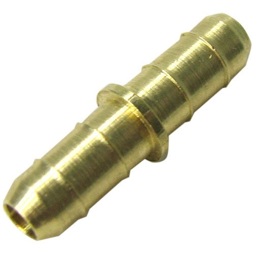 """CONNECTOR, 3/16"""" BRASS TUBING UNION"""