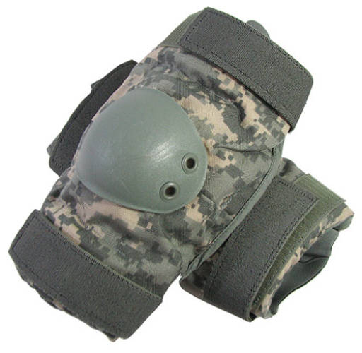 DIGITAL CAMOUFLAGE ELBOW GUARDS