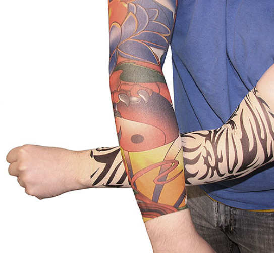 FAUX TATTOO SLEEVES