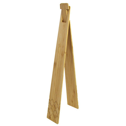 "14"" LONG BAMBOO TONGS"