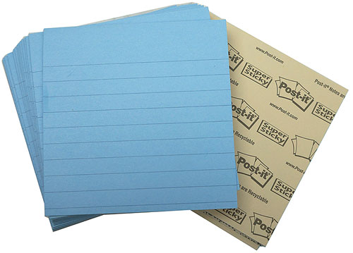 BLUE POST-IT® NOTES