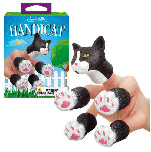 CAT FINGER PUPPET SET