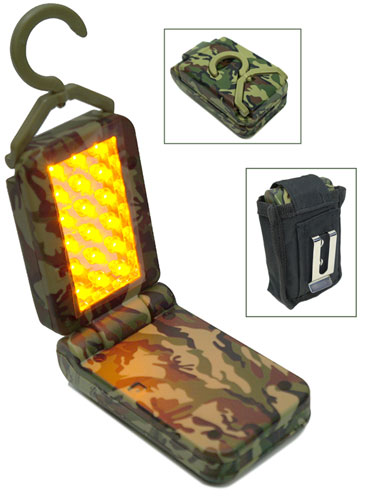 AMBER LED FLASHLIGHT