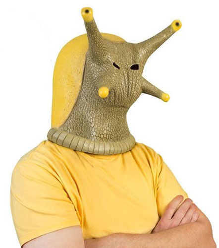 BANANA SLUG RUBBER MASK