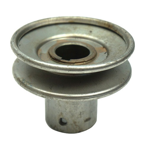 "STEEL PULLEY WITH 1/2"" ID SHEAVE"
