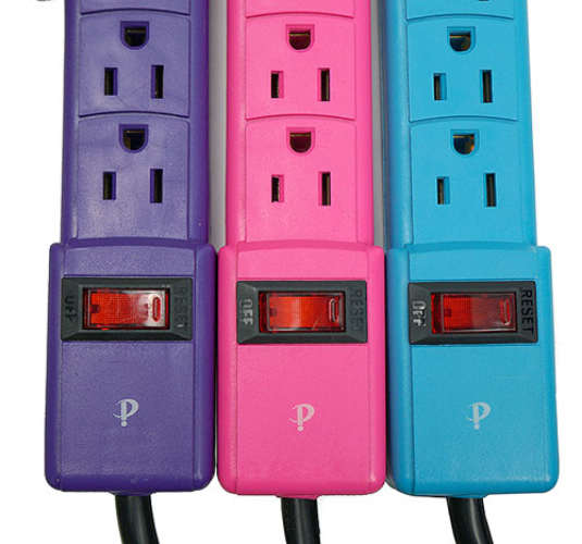 6-OUTLET POWER STRIPS