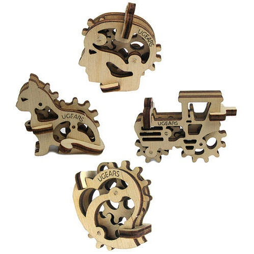 U-GEARS® LASER CUT WOODEN MODELS