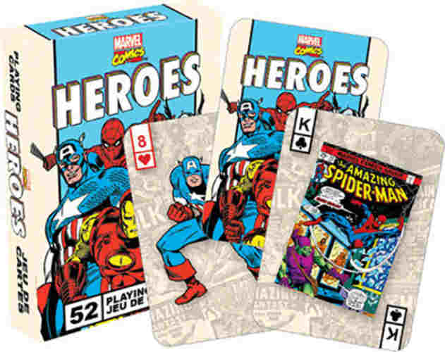 MARVEL COMICS-THEMED PLAYING CARDS