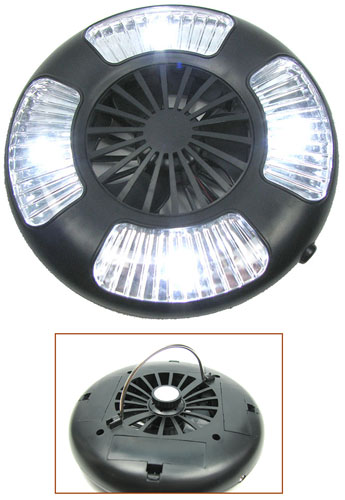 SUPER BRIGHT TENT FAN LED LIGHT