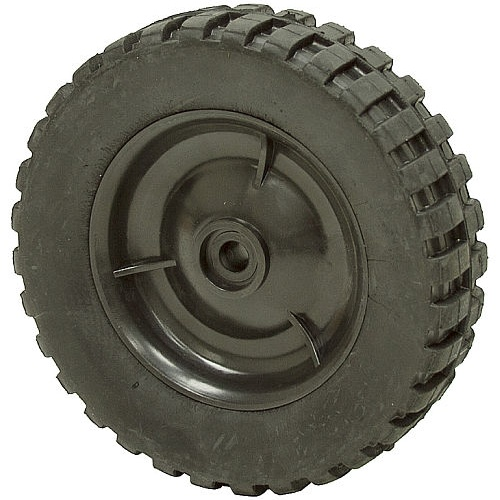 "WHEEL, 7-3/4"" DIA. X 2"", 1/2"" ID CROSS TREAD"
