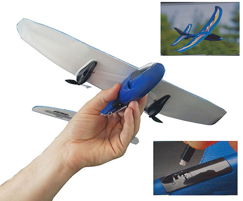 REMOTE CONTROL PROPELLER AIRPLANE