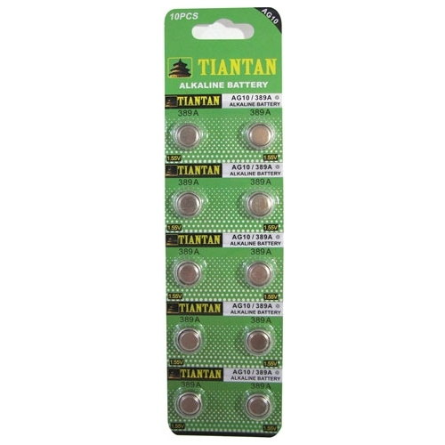 AG10 BATTERIES BULK PACK (100)