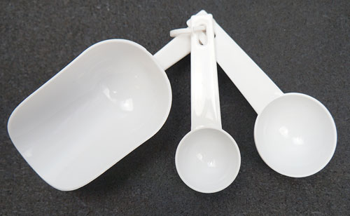 SCOOP AND SPOON KITCHEN MEASURING SET