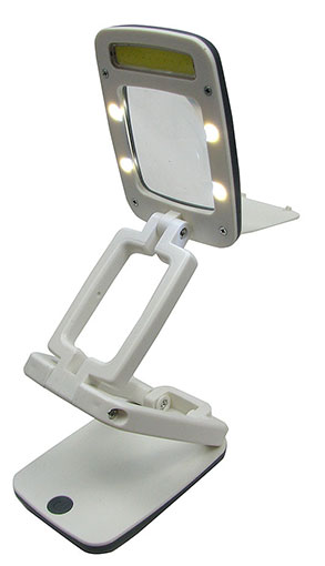 FOLDING LAMP MAGNIFIER