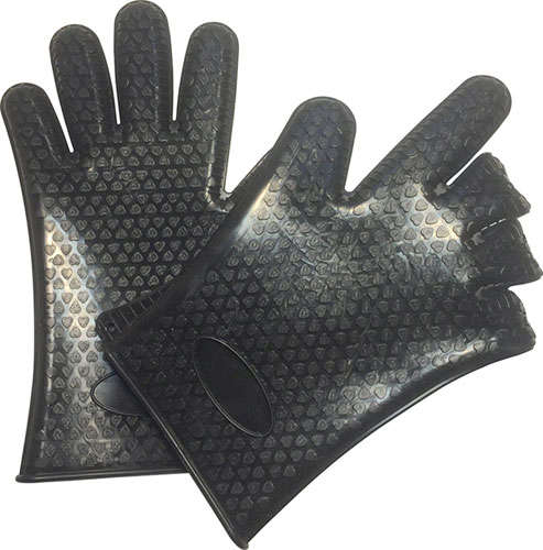 SILICONE HEAT-RESISTANT GLOVES
