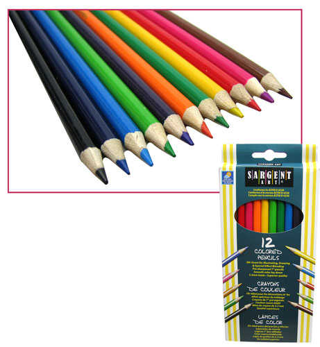 SARGENT ART® COLORED ART PENCILS