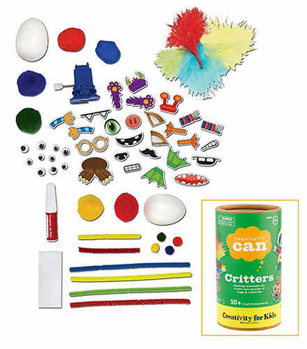 50 PIECE CREATIVITY KIT