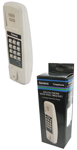 RETRO LANDLINE WALL PHONE