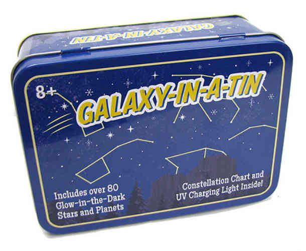 STARS AND PLANETS SET IN A TIN