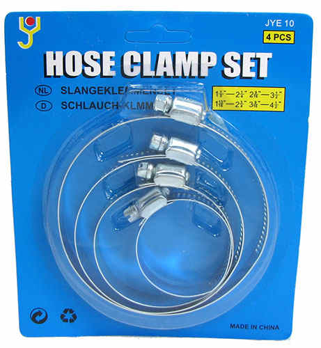 ASSORTED HOSE CLAMPS