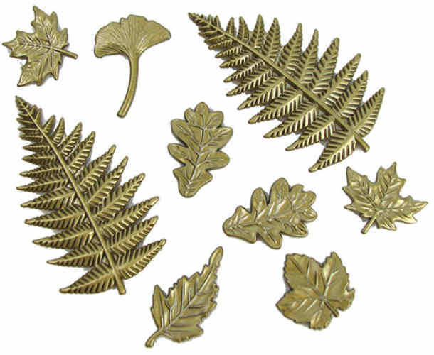 ASSORTED CRAFT LEAVES
