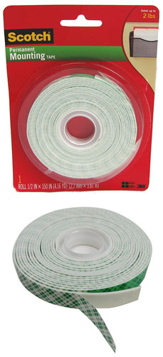 3M DOUBLE-SIDED MOUNTING TAPE