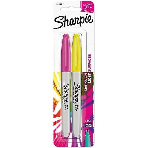 COLOR BURST FINE POINT SHARPIE 2-PACK