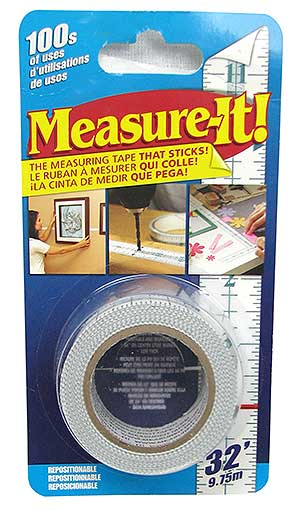 32-FOOT STICKY MEASURING TAPE
