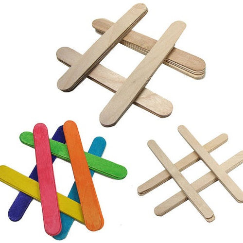 "6"" WOODEN CRAFT STICKS"