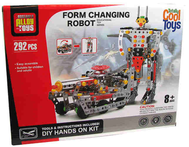 FORM CHANGING ROBOT/ARMED TANK KIT