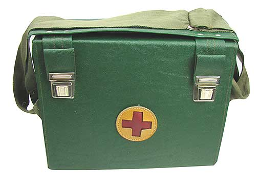 BULGARIAN ARMY MEDIC KIT WITH SUPPLIES
