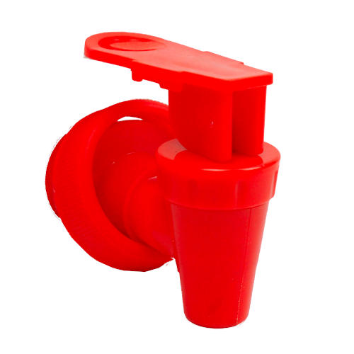 RED GASKETED PLASTIC SPIGOT