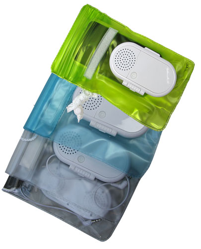 WATERPROOF MOBILE DEVICE SPEAKER