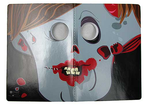 ZOMBIE MASK NOTEBOOK