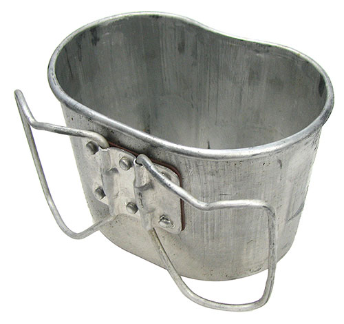ALUMINUM MILITARY CANTEEN CUPS
