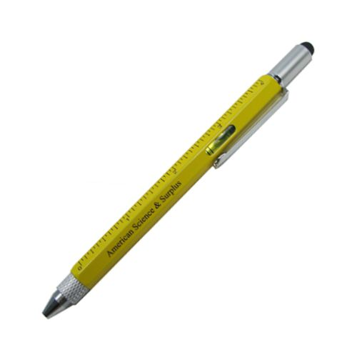AMAZING 9-WAY RULER-DRIVER PEN TOOL