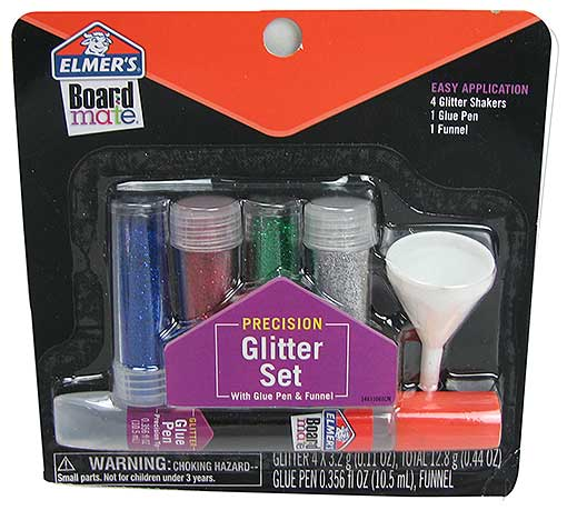 GLITTER AND GLUE  KIT
