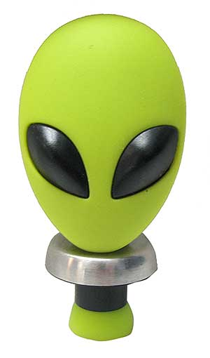 ALIEN-HEAD WINE BOTTLE STOPPER