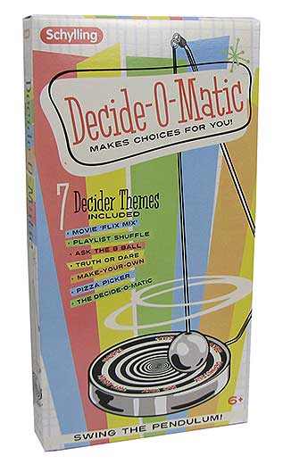 DECIDE-O-MATIC GAME