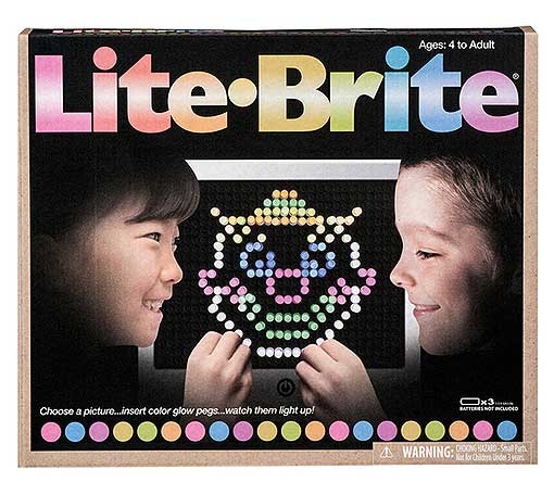 HASBRO LITE-BRITE LED TOY