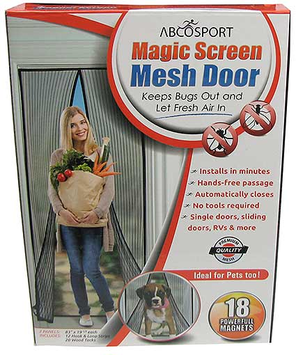 NYLON MESH SCREEN DOOR FLAP