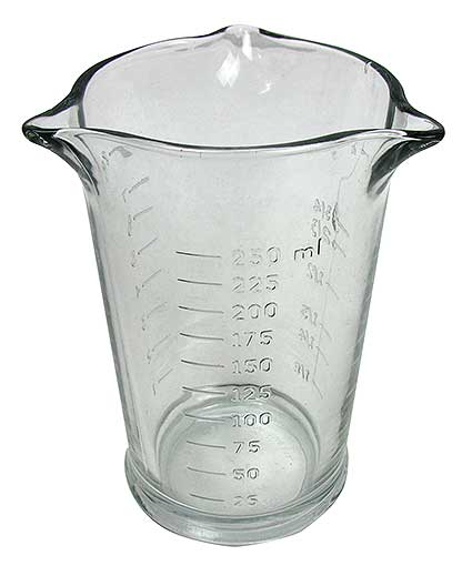THREE-SPOUT MEASURING GLASS
