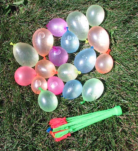 RAPID WATER-BALLOON FILLER