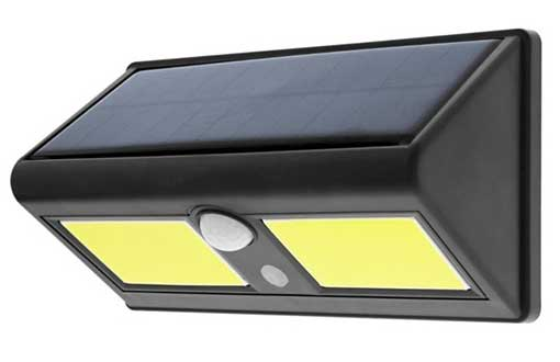 750 LUMEN MOTION SOLAR FLOODLIGHT
