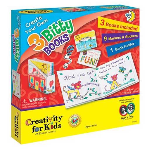CREATIVITY® FOR KIDS BLANK BOOKS