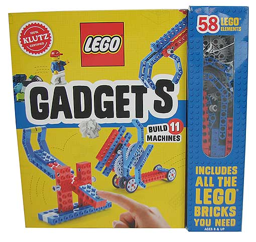 58-PIECE LEGO® GADGET KIT WITH MANUAL