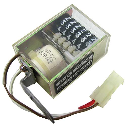 24VDC ELECTRONIC COUNTER