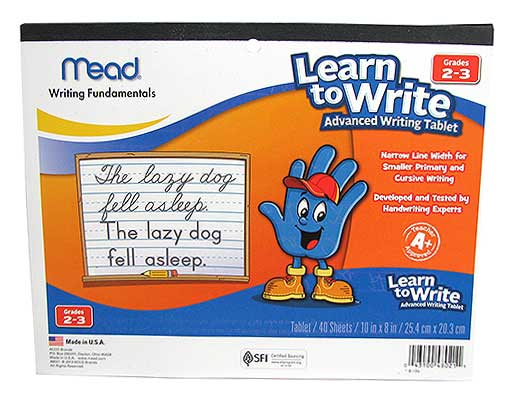 KIDS' DOTTED WRITING TABLET